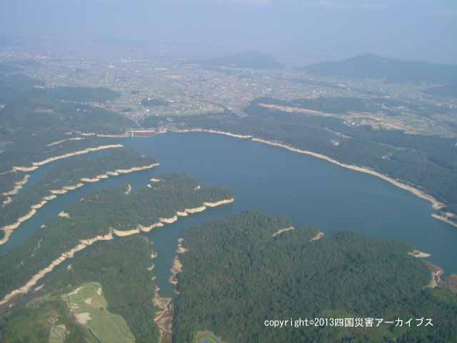 【備考画像】弘仁9年の満濃池の決壊