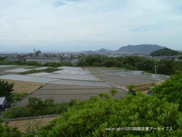 【備考画像】正保元年の井関池の決壊