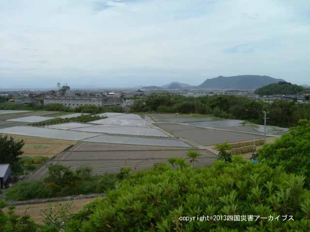 【備考画像】慶安元年の井関池決壊